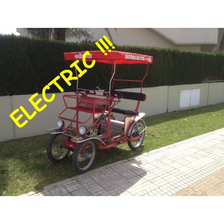 carro electric  3+2 pax